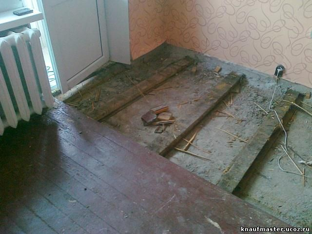 Ремонт пола деревянного в квартире своими руками